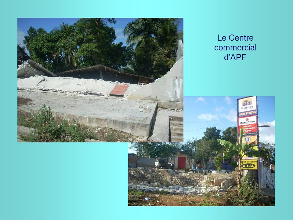 Le Centre commercial d'APF