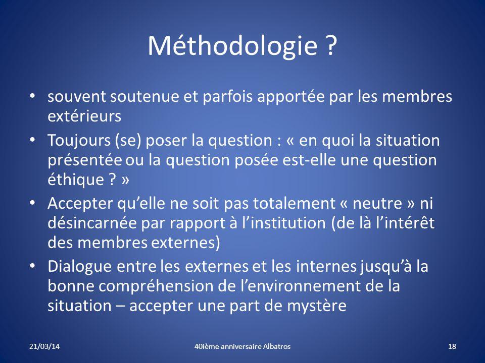 Méthodologie .
