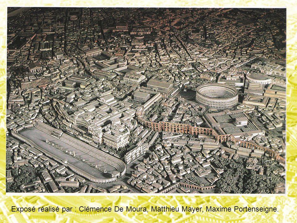 Exposé réalisé par : Clémence De Moura, Matthieu Mayer, Maxime Portenseigne.