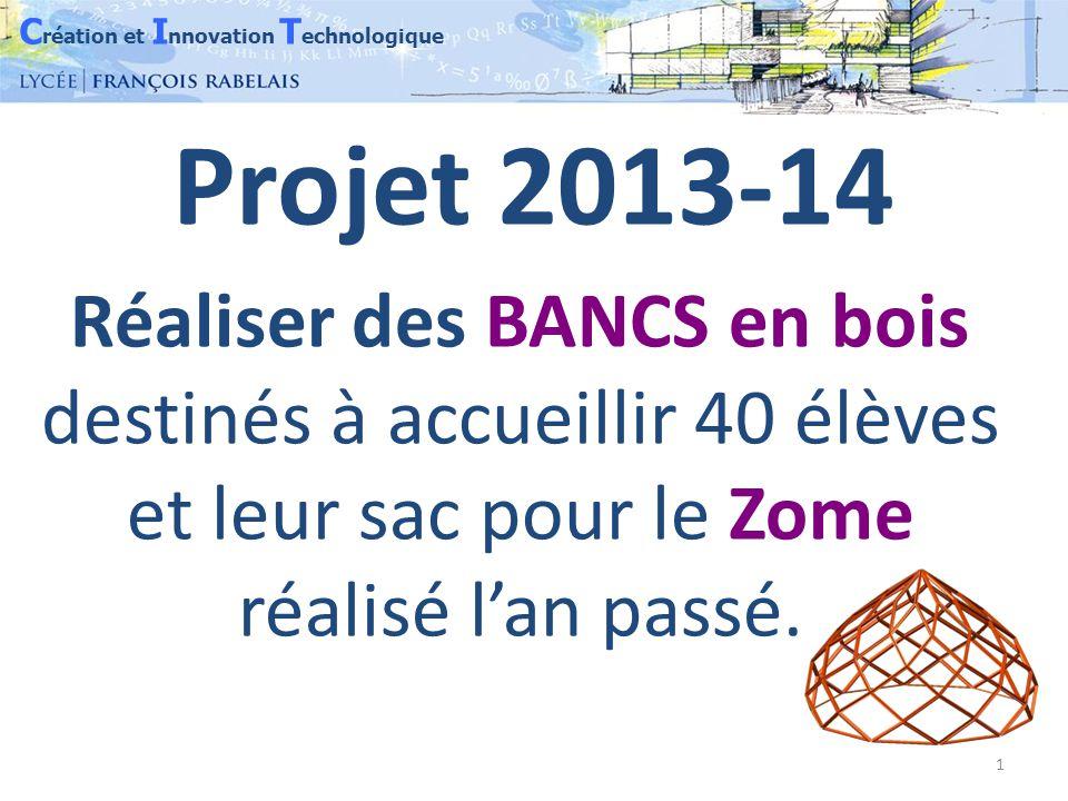 C réation et I nnovation T echnologique 2 Chaque îlot a réalisé des maquettes RÉELLES et VIRTUELLES des solutions envisagées.