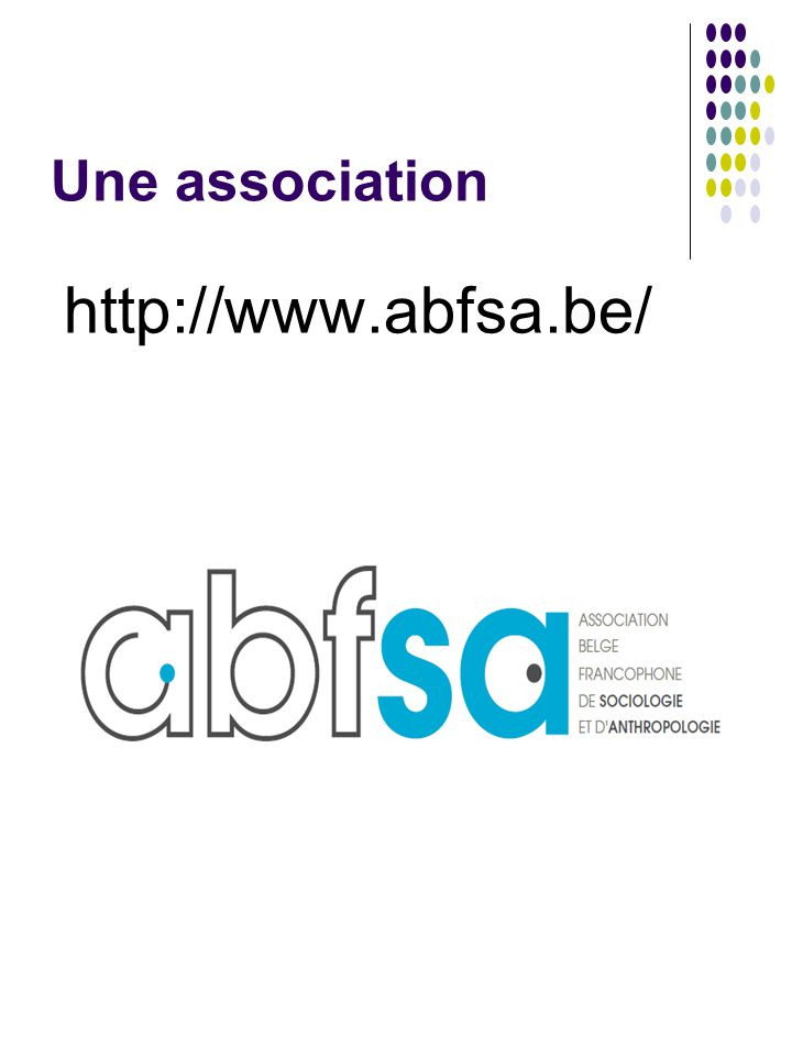 Une association http://www.abfsa.be/