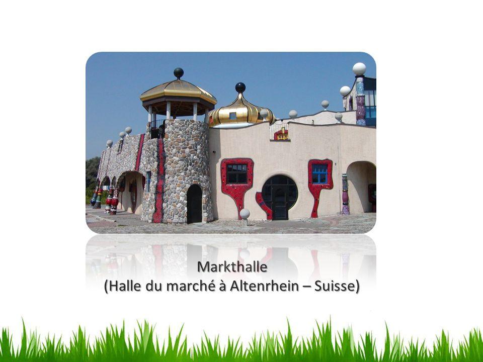Markthalle (Halle du marché à Altenrhein – Suisse)
