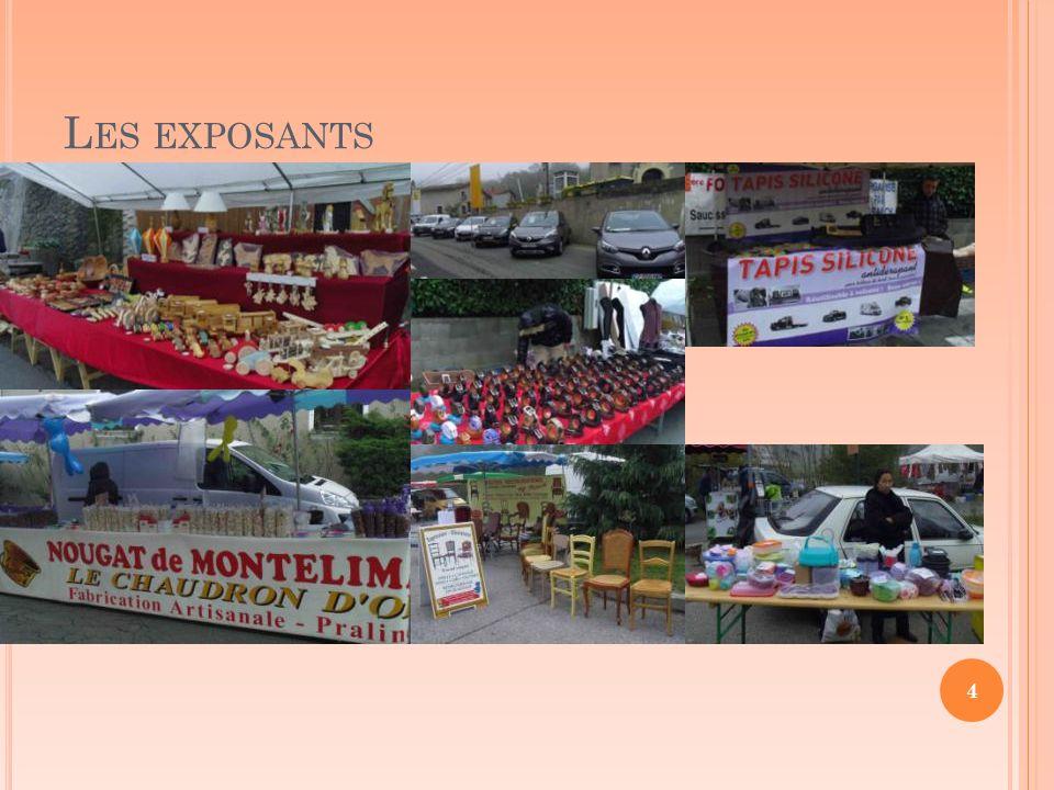L ES EXPOSANTS 4