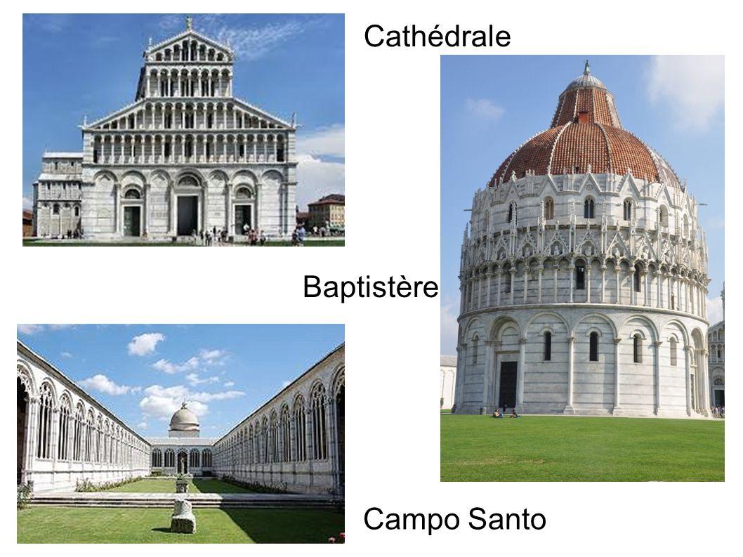 Campo Santo Baptistère Cathédrale