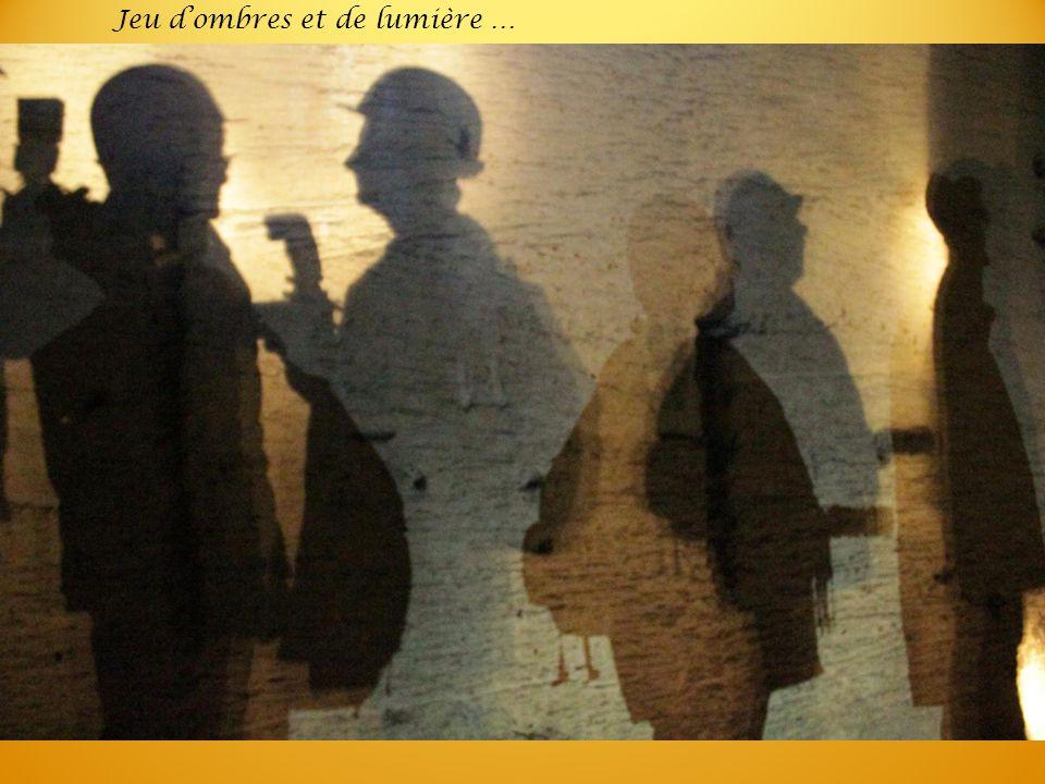 Jeu d'ombres et de lumière …