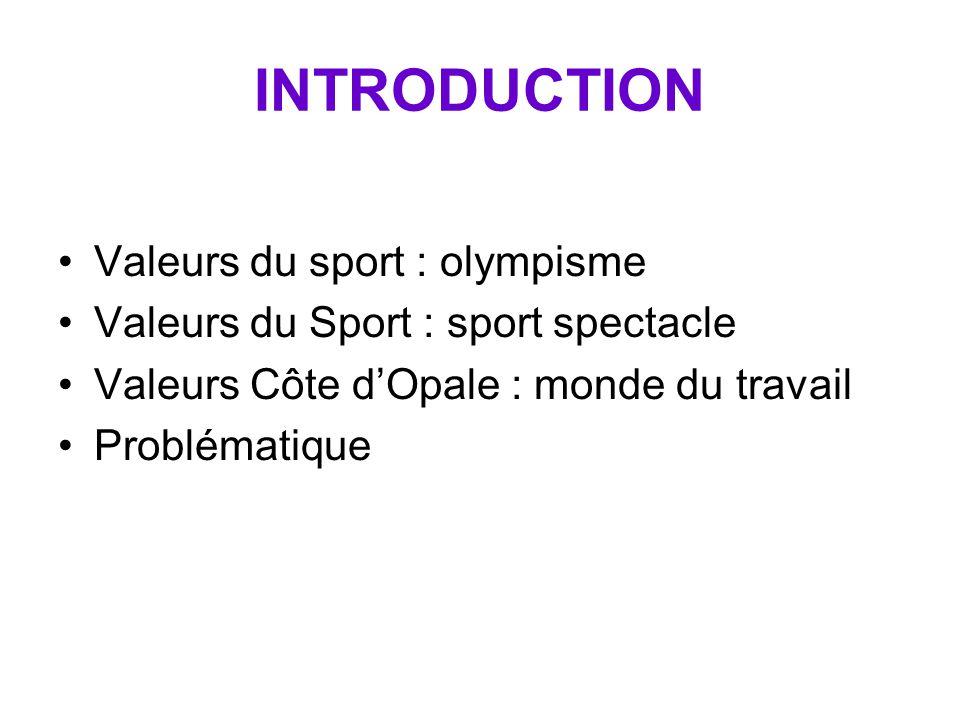 Université du Littoral Côte d'Opale Sciences et Techniques des Activités Physiques et Sportives Licence année 2004 Argent et Sport : Jugement de la Ju