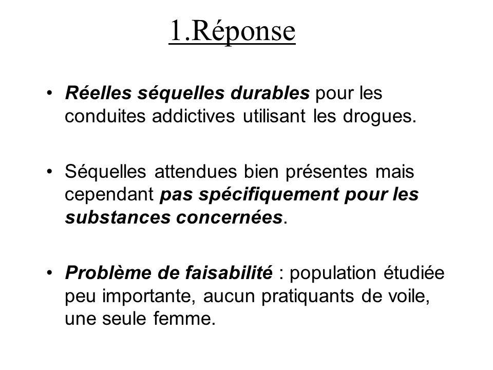 D. Conclusion 1.Réponse 2.Ouverture