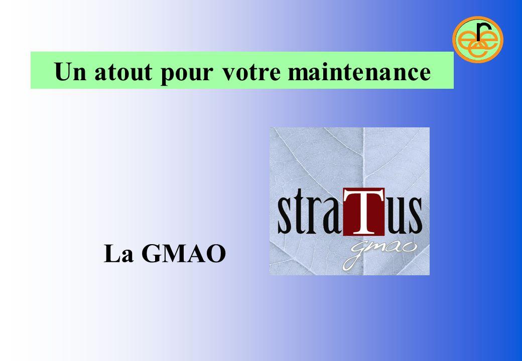 La GMAO Un atout pour votre maintenance
