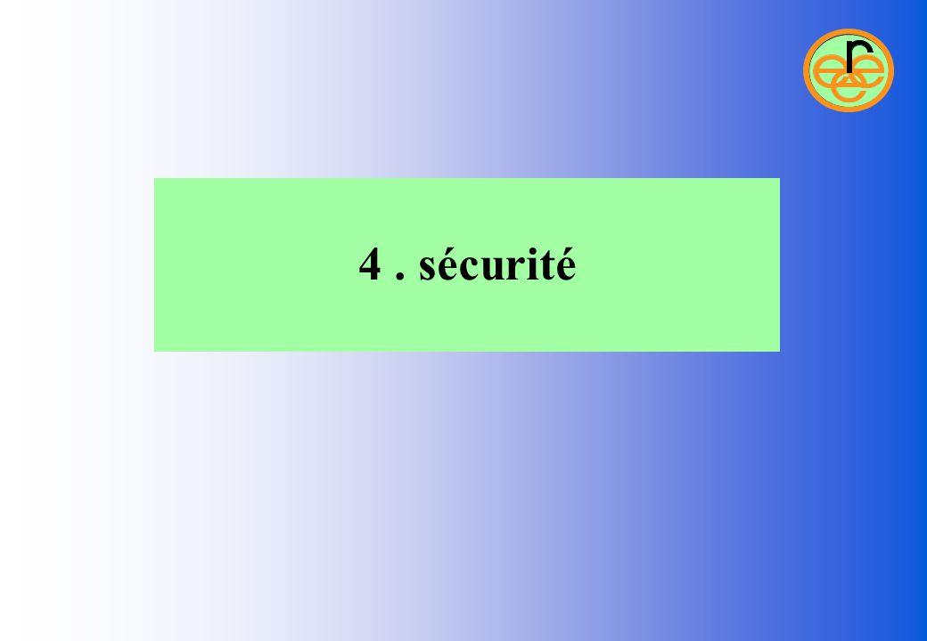 4. sécurité