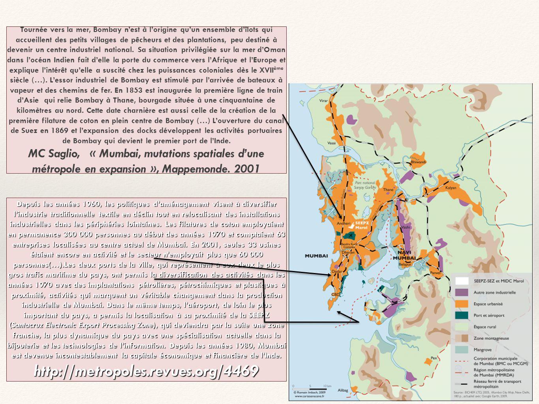 Source: Google earth Adam Sichta LE BIDONVILLE DE DHARAVI: AU CŒUR DE MUMBAI