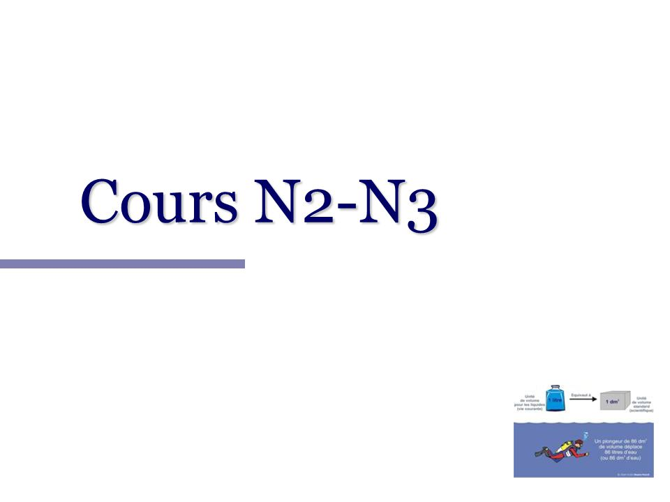 Cours N2-N3