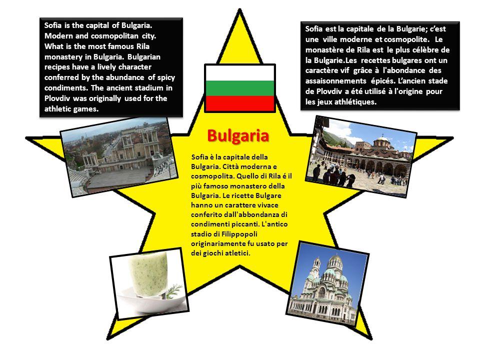 Bulgaria Sofia è la capitale della Bulgaria. Città moderna e cosmopolita.