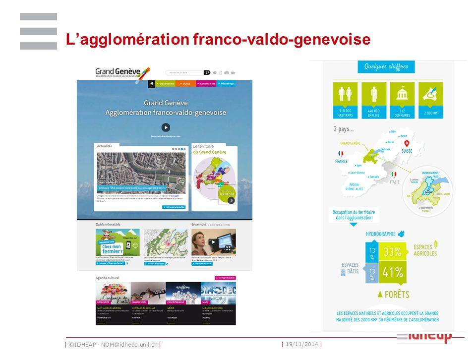 | ©IDHEAP - NOM@idheap.unil.ch | | 19/11/2014 | L'agglomération franco-valdo-genevoise