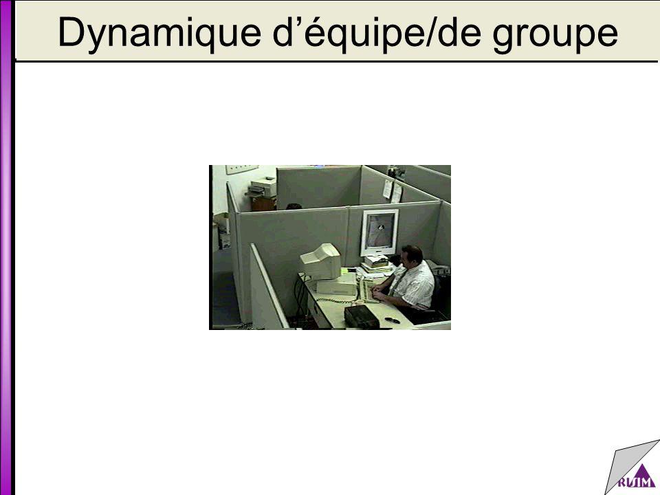 Dynamique d'équipe/de groupe