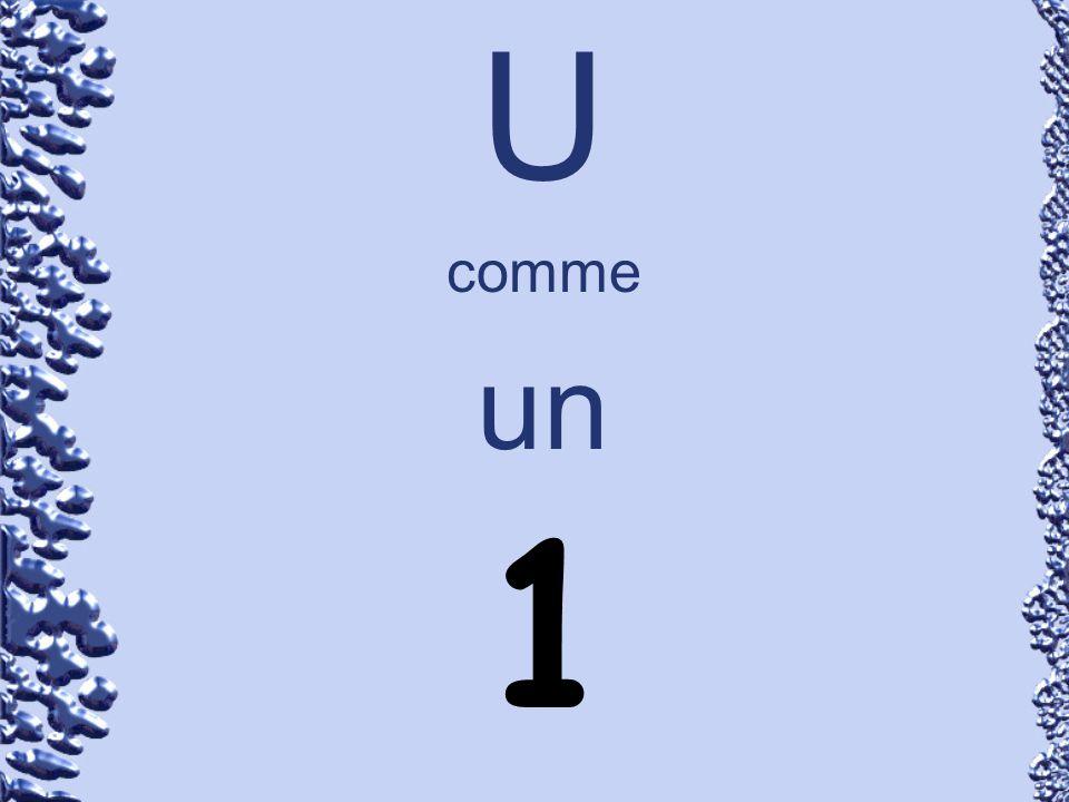U comme un 1