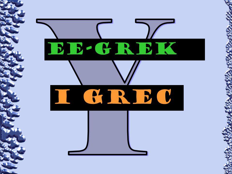 EE-GREk I grec