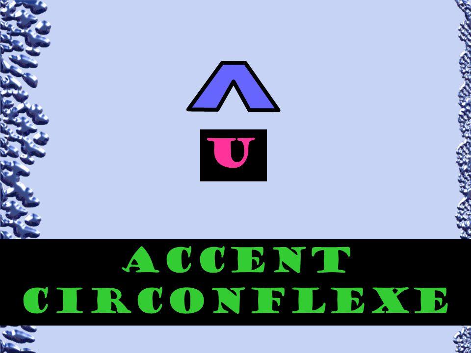 accent circonflexe aeiou