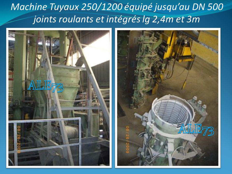 DNNombres 2503 3003 300 BLT2 4003 400 BLT2 5002 DN embaseStandard Joint Intégré BLT 250 / 300230110 400240220 500210180 fabrication du DN250 au DN500 : Avec moules extérieurs par DN.