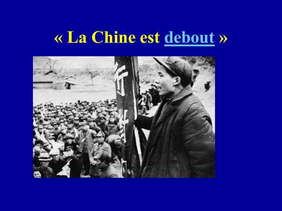 « La Chine est debout »debout