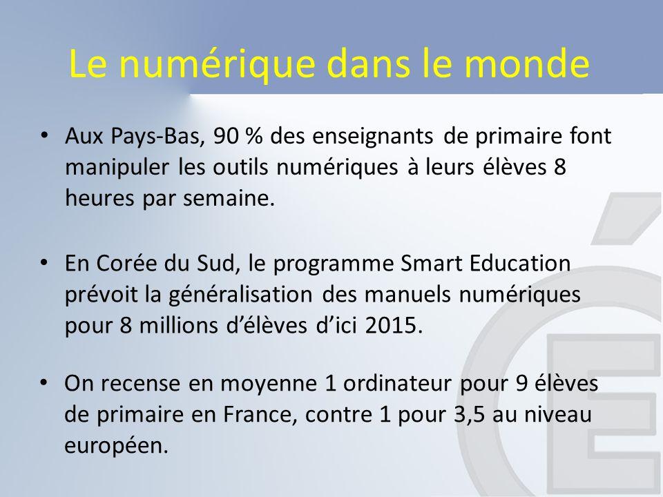 Le numérique éducatif, ici et maintenant… Les enseignants de Martinique se distinguent par un recours moins fréquent au numérique que la moyenne nationale .