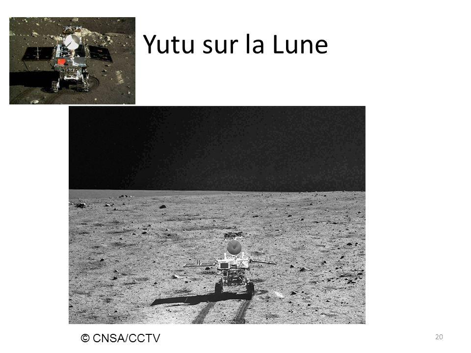 Yutu sur la Lune 20 © CNSA/CCTV