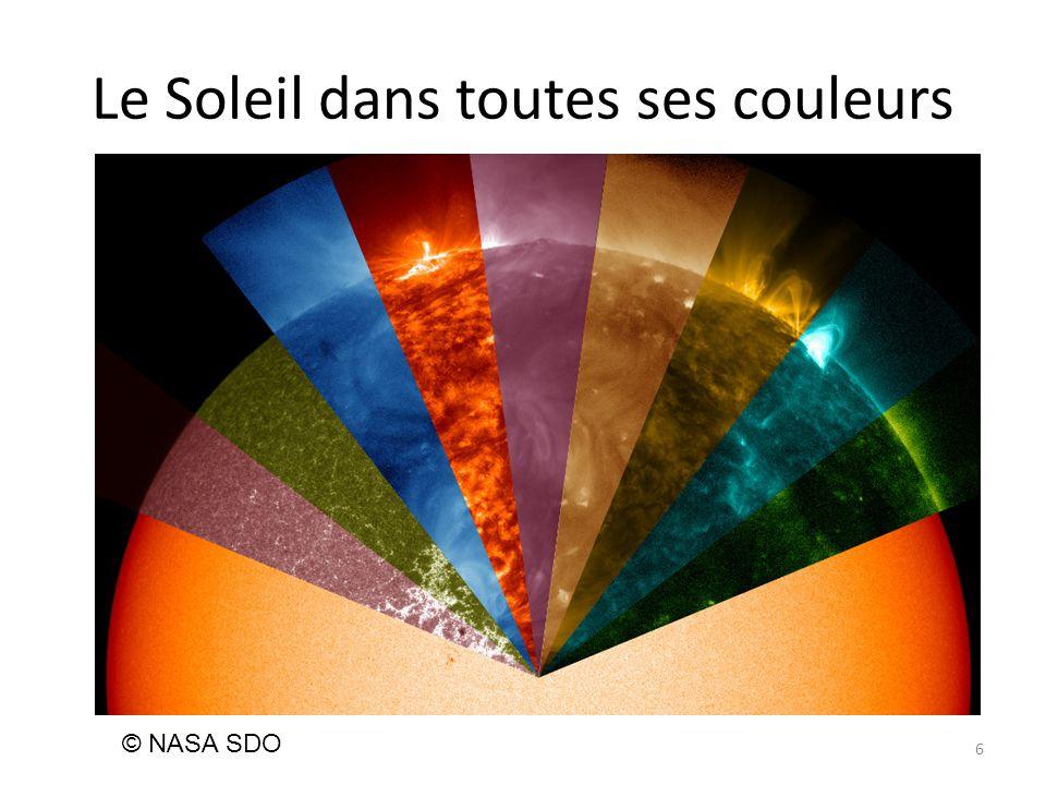 Le Soleil dans toutes ses couleurs 6 © NASA SDO