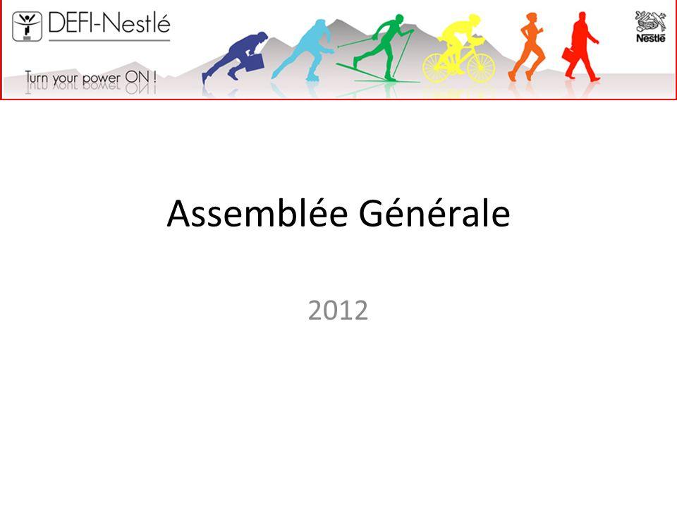 Assemblée Générale 2012