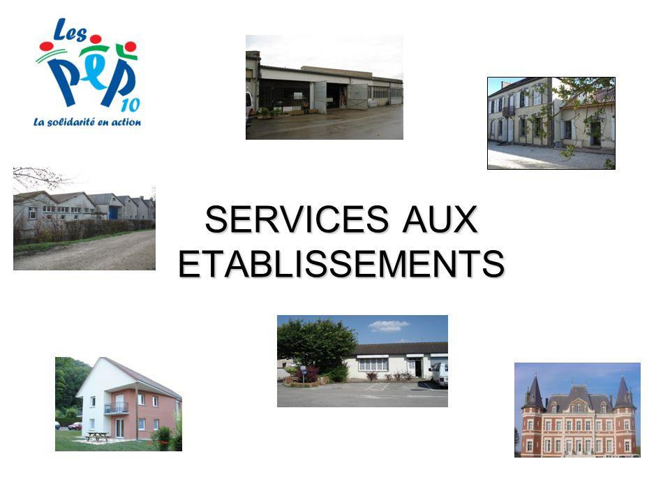 SERVICES AUX ETABLISSEMENTS
