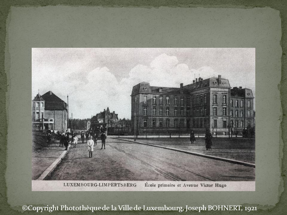©Copyright Photothèque de la Ville de Luxembourg, Joseph BOHNERT, 1921