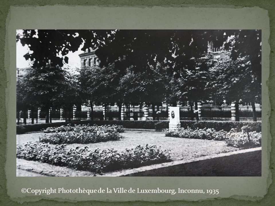 ©Copyright Photothèque de la Ville de Luxembourg, Inconnu, 1935