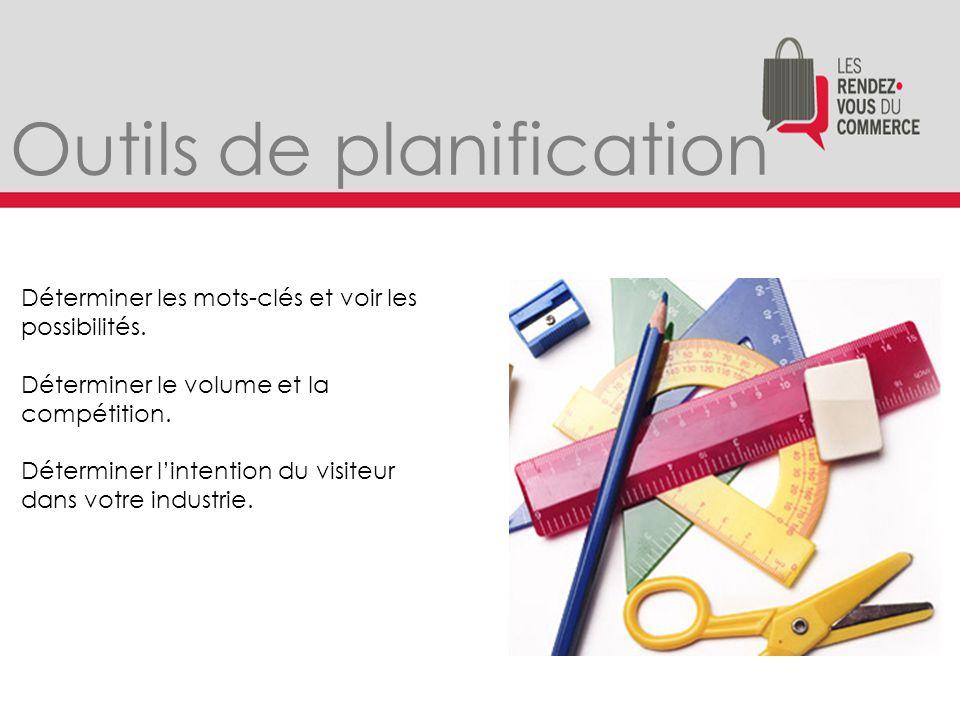 http://keywordtool.io/ Outils de planification