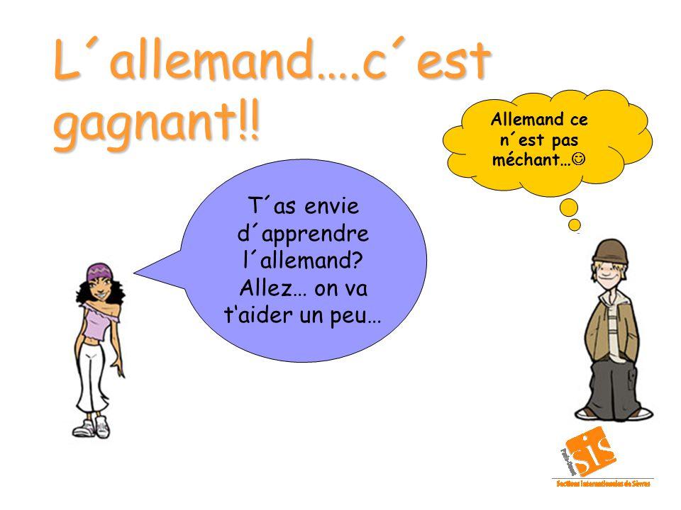 Va sur le site Web: http://www.allemandfacile.com/audrey.php Audrey sait prononcer des phrases dans les principales langues du monde, dont l allemand...