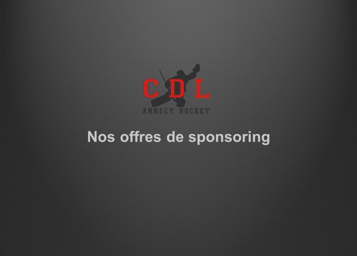 Nos offres de sponsoring