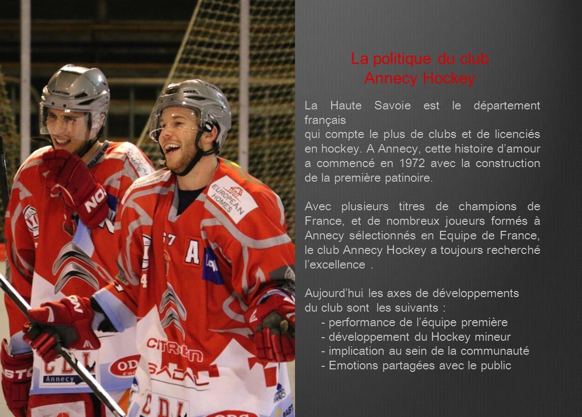 La Haute Savoie est le département français qui compte le plus de clubs et de licenciés en hockey. A Annecy, cette histoire d'amour a commencé en 1972