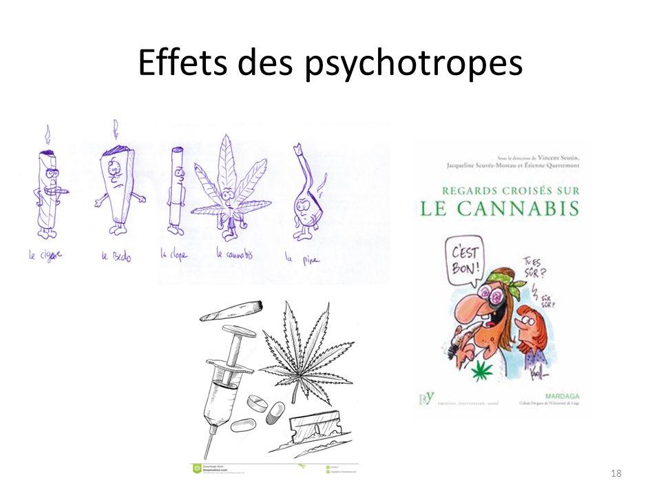 Effets des psychotropes 18