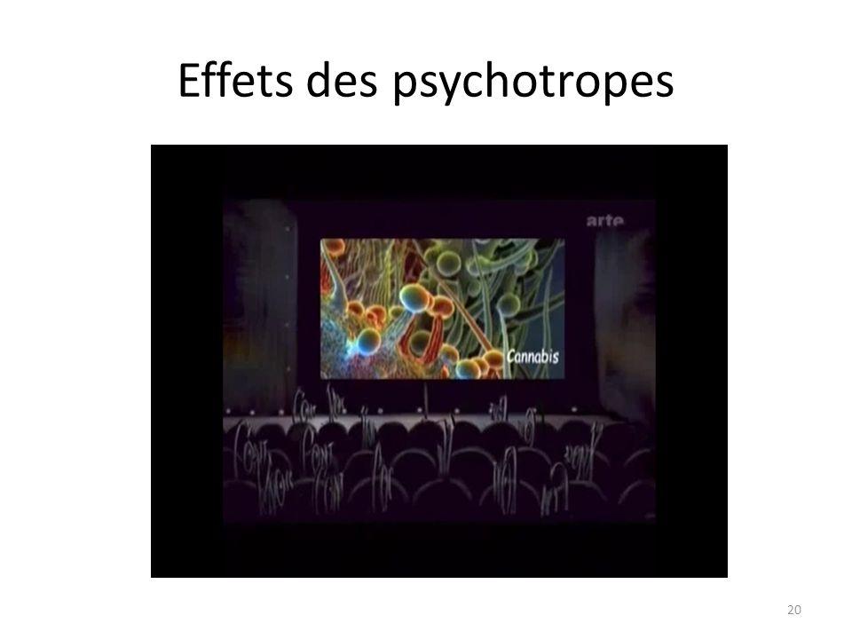 Effets des psychotropes 20