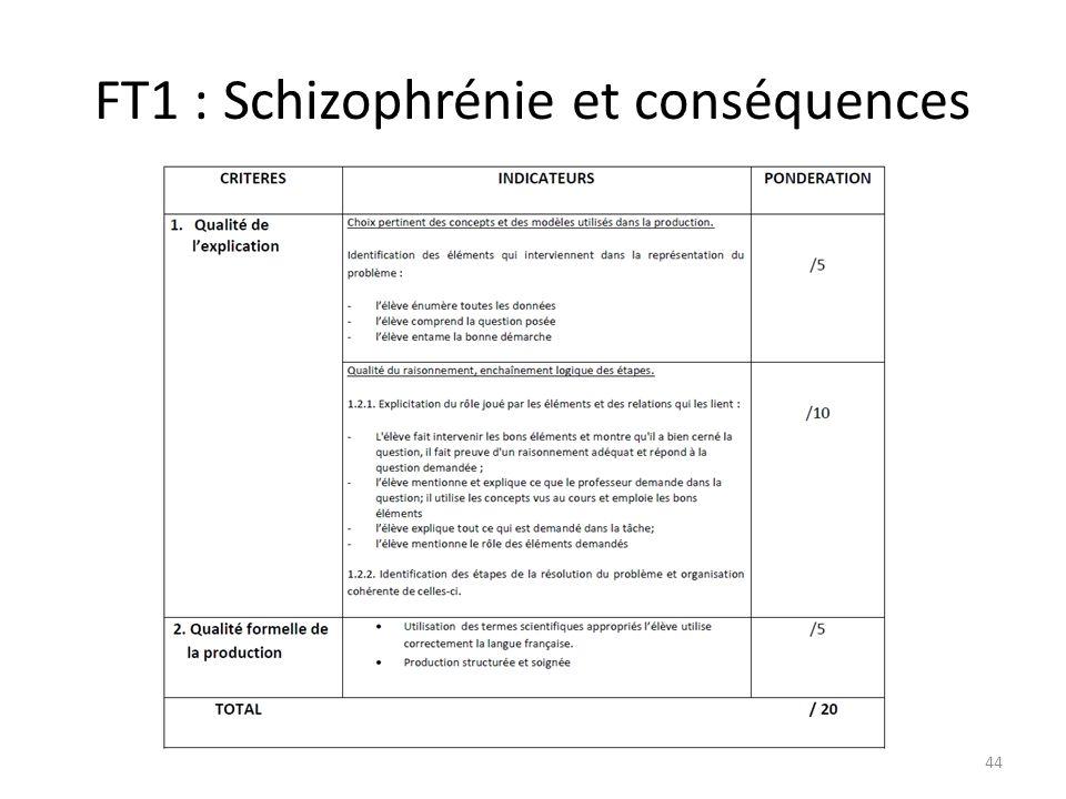 FT1 : Schizophrénie et conséquences 44