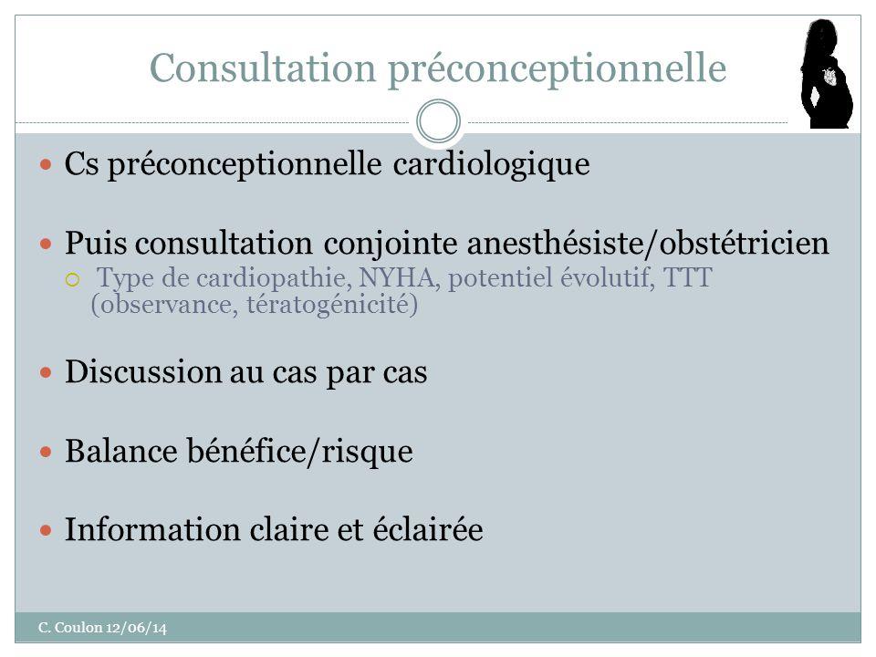 Consultation préconceptionnelle C.