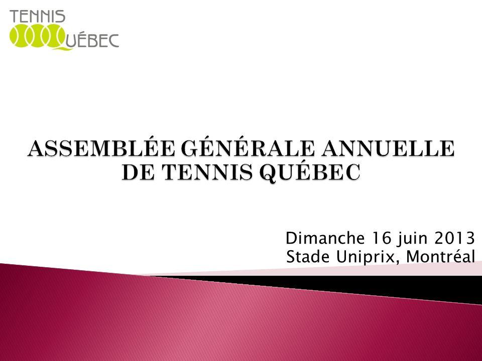 Dimanche 16 juin 2013 Stade Uniprix, Montréal