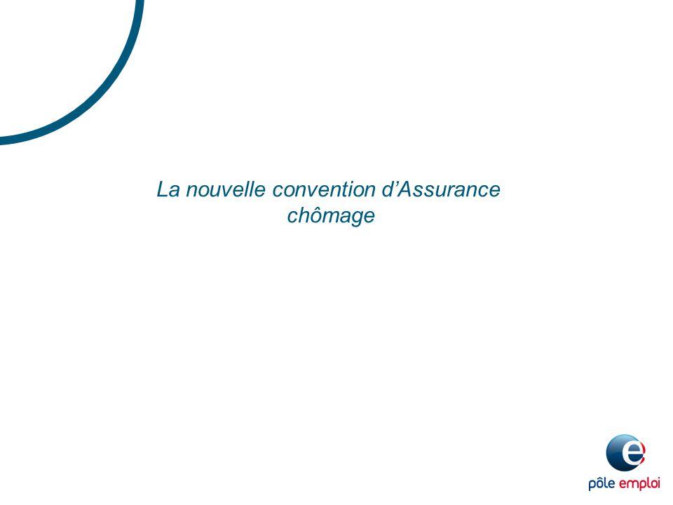La nouvelle convention d'Assurance chômage