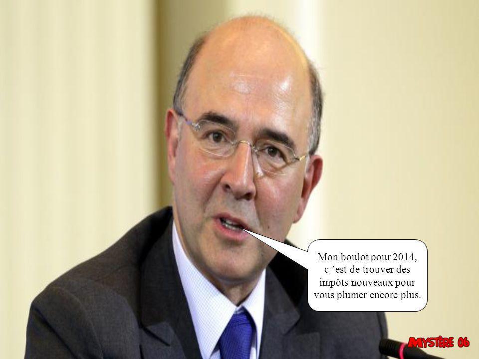 Moi pour 2014, j 'espère trouver encore pas mal de conneries à dire au peuple de France.