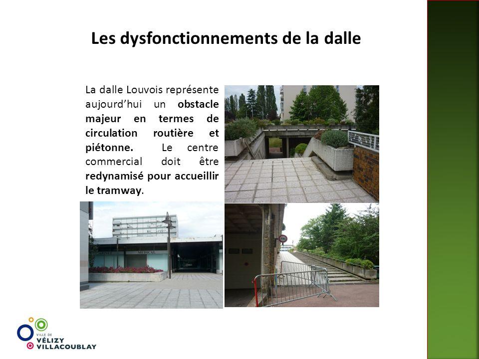 Les dysfonctionnements de la dalle La dalle Louvois représente aujourd'hui un obstacle majeur en termes de circulation routière et piétonne. Le centre