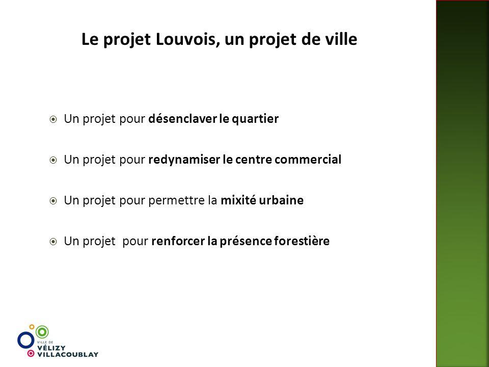  Un projet pour désenclaver le quartier  Un projet pour redynamiser le centre commercial  Un projet pour permettre la mixité urbaine  Un projet po