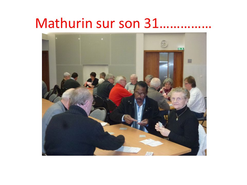 Mathurin sur son 31……………