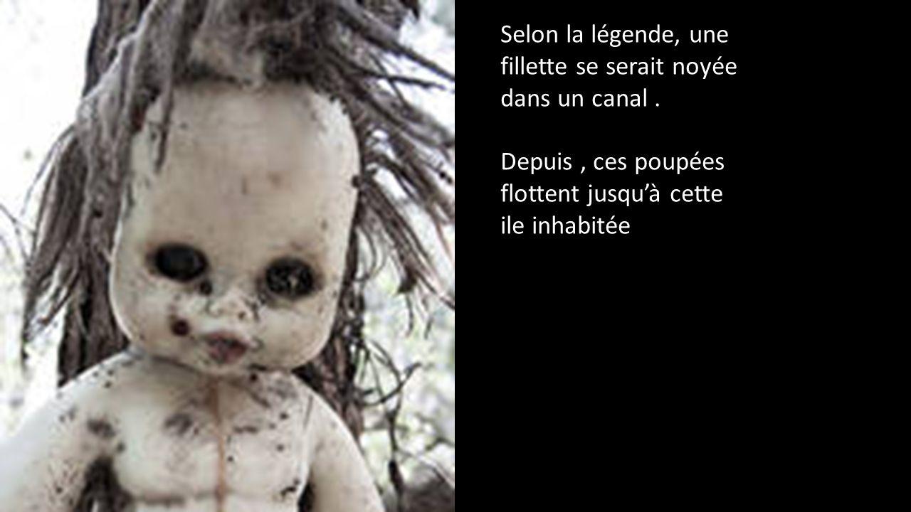 Au Mexique: Dans un endroit qui fait vraiment peur, des poupées…