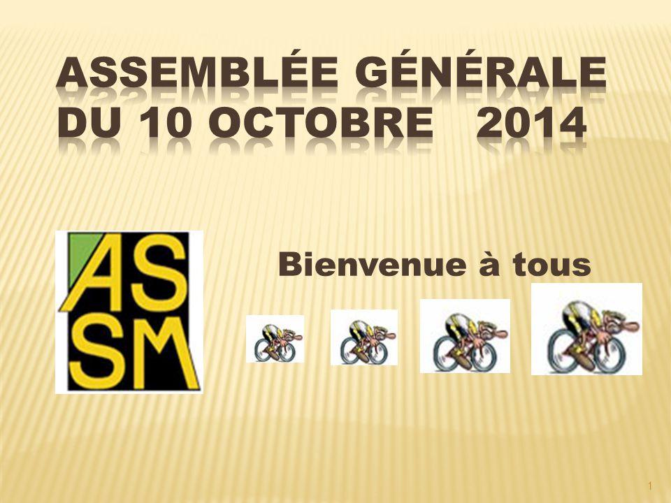 22 SOIREE DANSANTE REMISE DES RECOMPENSES ASSM  Pré Inscription pour cette soirée ASSM du 22 Novembre 2014 auprès de Francis.