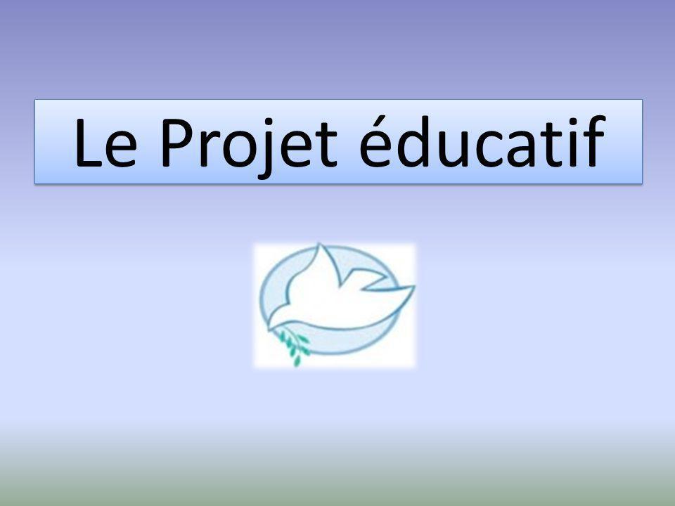 Le Projet éducatif