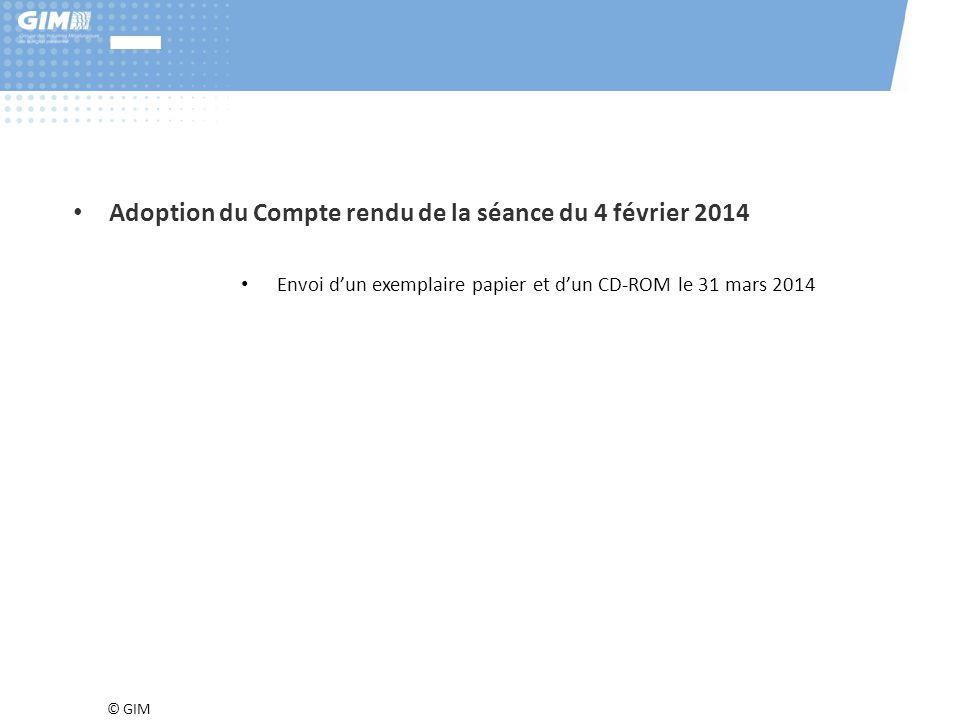 © GIM 14 e) Perspectives – Enquête BMO Pôle Emploi 2014.