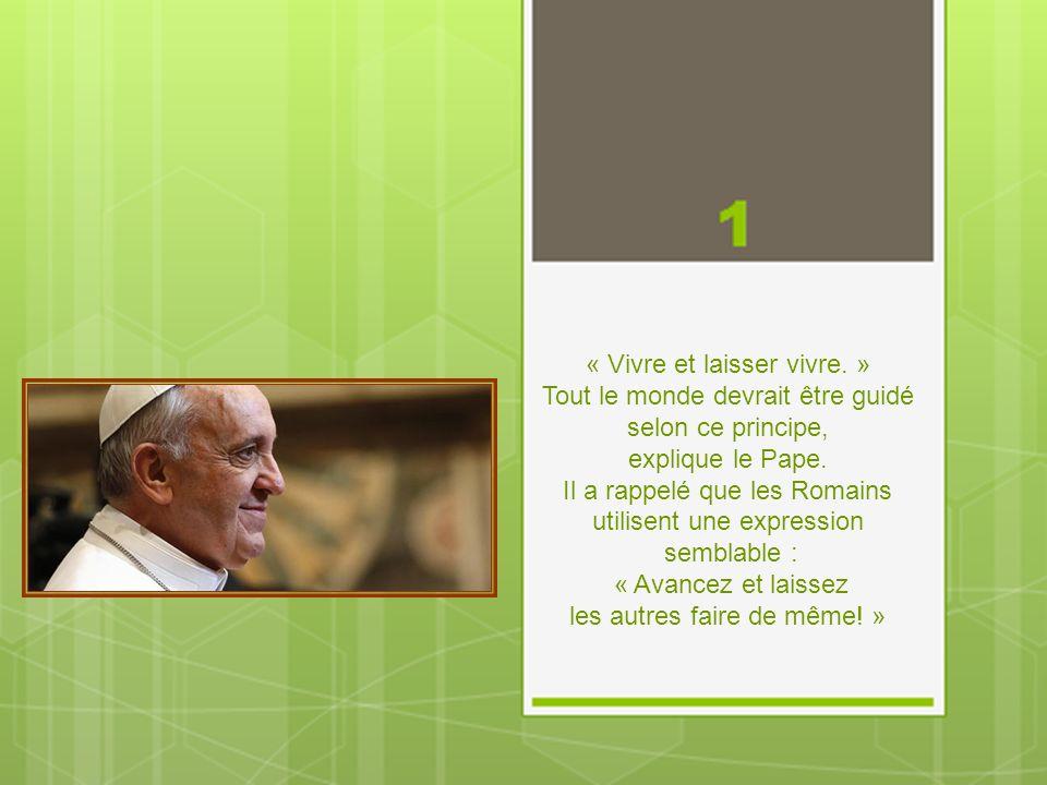 Les 10 secrets du Bonheur du Pape François