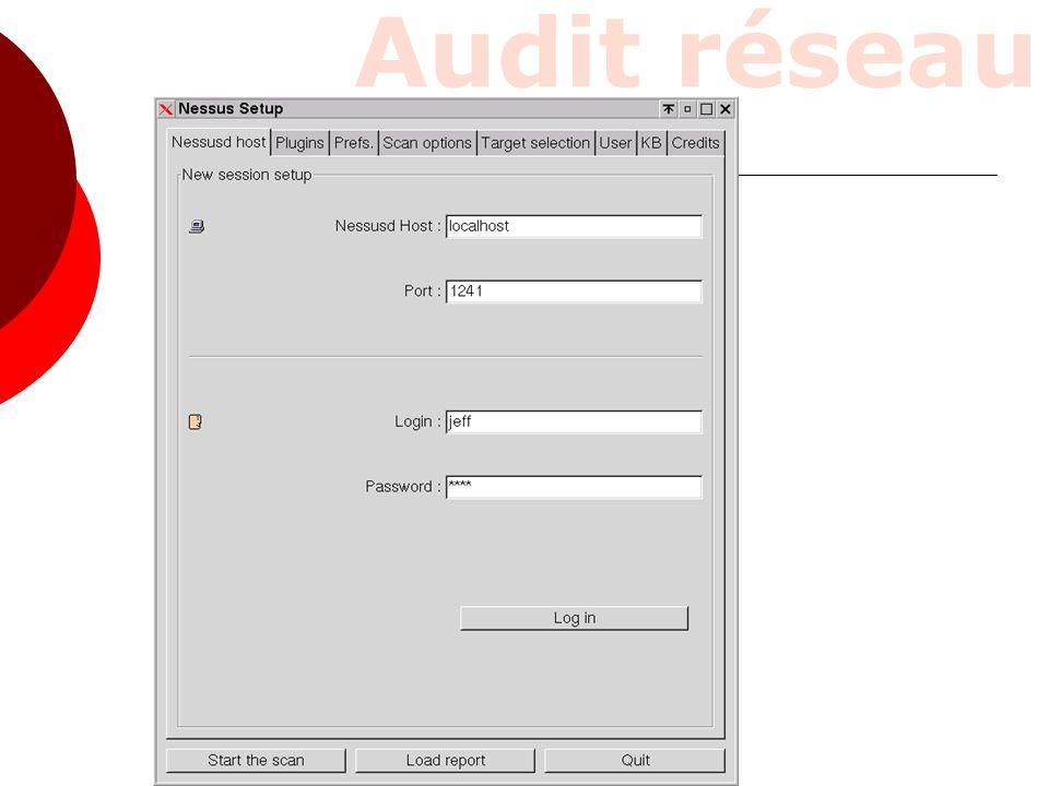 Audit réseau